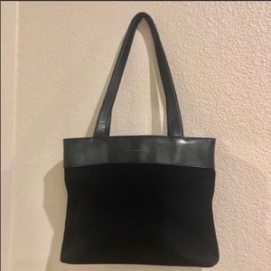 Enzo Angiolini• Leather Lined Tote Bag